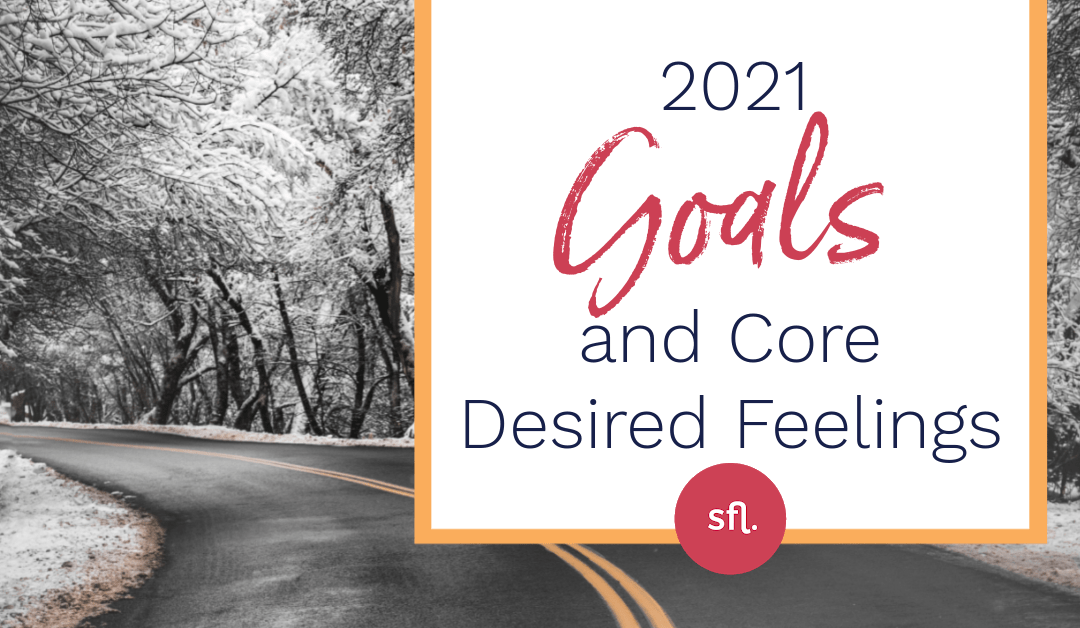 2021 Goals & Core Desired Feelings
